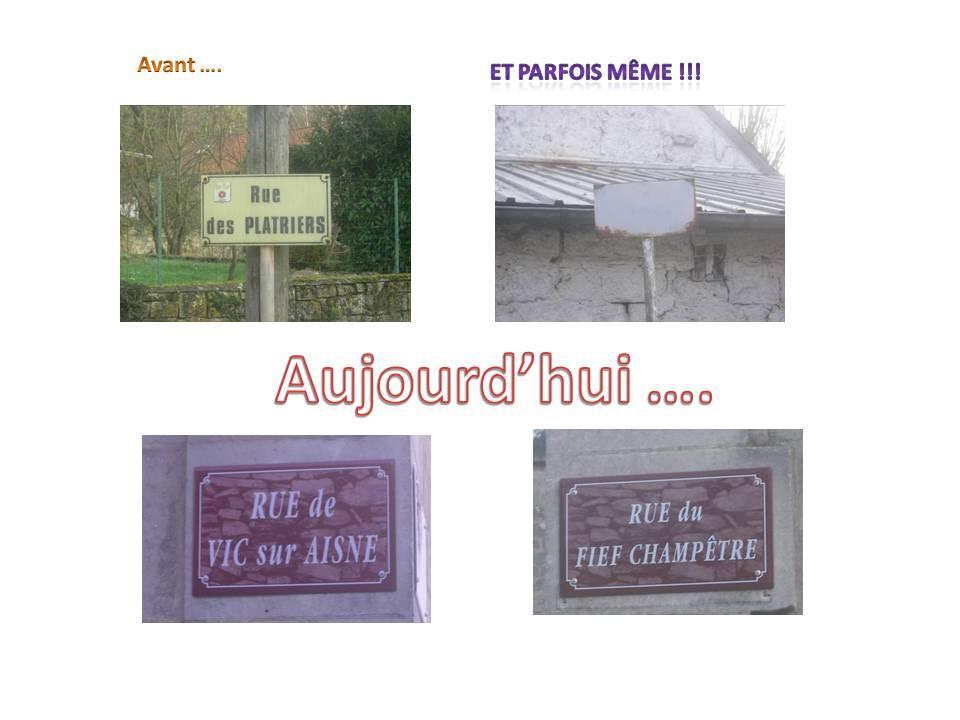 plaques de rues 1